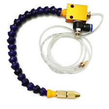 Mist Coolant Lubrication Spray System Air pipe 8mm for CNC Lathe Milling Machine