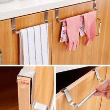 Over-The-Door Hook Rack Metal 5 Hooks Hanger Storage Coat Hat Hanging E9E3