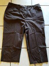 212 COLLECTION WOMEN'S SIZE 18 STRETCH BROWN CAPRI PANTS