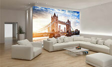 Tower Bridge in London Wall Mural Photo Wallpaper GIANT DECOR Paper Poster