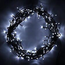 100 LED White Waterproof Outdoor & Indoor Christmas Wedding Fairy String Lights