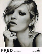 PUBLICITE ADVERTISING  2009  FRED  joaillier  KATE MOSS