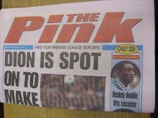 21/02/1998 Coventry Evening Telegraph The Pink: Main Headline Reads: Dion Is Spo