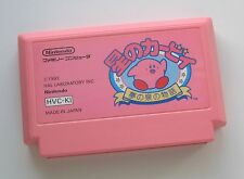Kirby Adventures Famicom / NES JP GAME (Combine shipping)