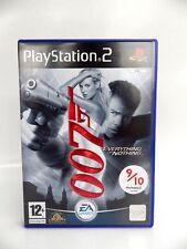 Jeu Playstation 2 occasion 007 kit ou double Complet notice PS2 vidéo game