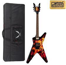 Dean Dimebag Dime-O-Flame Electric Guitar w/ FREE Case, Dean Pickups, DBDF CASE