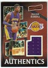 2016-17 Panini Aficionado Authentics Jersey Relic /175 #40 Julius Randle Lakers