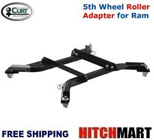 CURT OEM PUCK SYSTEM 5TH WHEEL TRAILER HITCH ROLLER ADAPTER FOR RAM  16022
