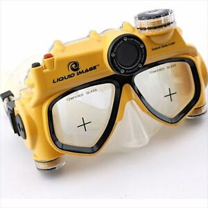 Liquid Image Explorer Series 8.0 Megapixel Underwater Digital Camera Mask