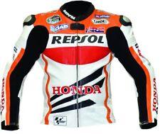 *REPSOL* Motorbike Titanium Riding Jacket-Motorcycle Leather Racing Jackets