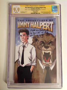 CGC SS 9.9 The Office Jimmy Halpert comic #24/100 NBC signed Rainn Wilson Dwight