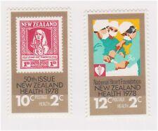 (K118-72) 1978 NZ 2set health stamps (CE)