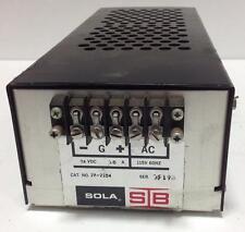 SOLA STB 115V 24VDC 3.0A POWER SUPPLY 28-2204 *PZB*