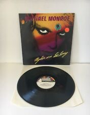MICHAEL MONROE NIGHTS ARE SO LONG VINYL LP IMPORT 1987 YAHOO! RECORDS