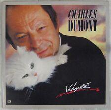 Chats - Chiens  33 tours Charles Dumont Volupté 1985