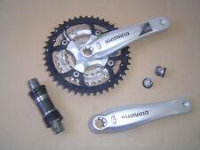 Shimano Deore Alu manivela fc-m540 octalink 170 mm 44 Z + rodamiento plata nuevo