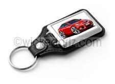 WickedKarz Cartoon Car Vauxhall Insignia SRi in Red Key Ring