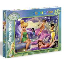 CLEMENTONI puzzle 104 pièces DISNEY super color la fée clochette Fairies NEUF