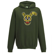Springtrap FNAF Five Nights Game Inspired Adults Kids Hoodie