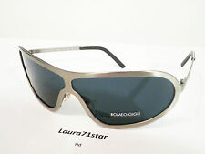 ROMEO GIGLI 51103 Gray Silver Sunglasses occhiali sole Unisex NEW original