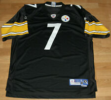 Pittsburgh Steelers ROETHLISBERGER Jersey Sewn Men XL