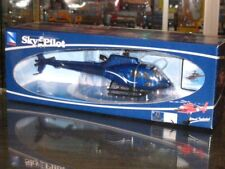 New Ray Sky Pilot Diecast Helicopter 1/43 Eurocopter AS350 B2  Blue (24cm)