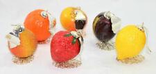 Frutta finta in resina per la decorazione della casa
