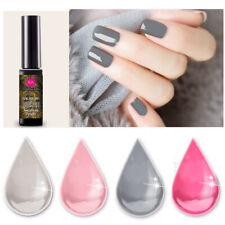 RAINBOW ABBY UV Gellack Nagellack Soak Off Nail UV Gel Maniküre Salon Rosa Grau