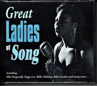 GREAT LADIES OF SONG 119 Classic Tracks 6 CD Box Set db