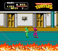 Teenage Mutant Ninja Turtles II 2 - NES Nintendo Tmnt
