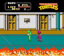Teenage Mutant Ninja Turtles II 2 - NES Nintendo Tmnt