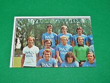 PANINI FOOTBALL EURO FOOTBALL 79 1978-1979 N°306 FC BASEL PART 1 SUISSE SCHWEIZ