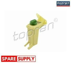 EXPANSION TANK, POWER STEERING HYDRAULIC OIL TOPRAN 110 689