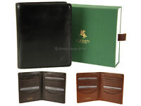 Visconti Mens Large RFID Blocking Leather Wallet For Cards, Banknotes - TSC49
