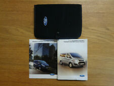 Ford Transit/Tourneo Custom Owners Handbook/Manual and Pack 12-18