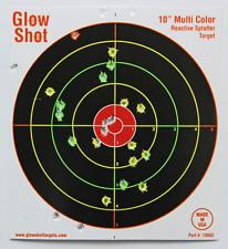 50 Pack 10 Reactive Splatter Targets Glowshot Multi Color Glow Shot
