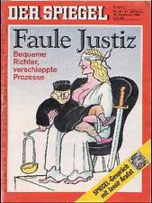 SPIEGEL 38/1993 Die faule Justiz