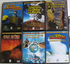 19 DVD DOCUMENTAL/NATIONAL GEOGRAPHIC/ IMAX/MUCHACHA AFGANA/TITANIC/Mira Ficha
