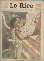Journal Le RIRE Rouge, édition de guerre N° 177 du 6 avril 1918