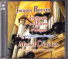 Jacques Boyvin 1649-1706 second organe Book Michel Chapuis 2cd CATHEDRALE D 'aussi