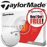 TAYLORMADE PROJECT (S) 3 PIECE WHITE GOLF BALLS / BUY 2 DOZEN GET 1 DOZEN FREE