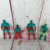 Vintage Remco Crystar Crystal Warrior Action Figures 1982