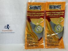 (HP) HotHands HFINSPDQ Insole Foot Warmers with Adhesive 2 packs (4 insoles)