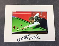 An 8 x 6 inch mount with photo signed by Snooker Player Ryan Day. (3).