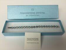 Swarovski Touchstone Crystal ICE BRACELET New In Box NIB - light blue