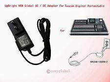 Global AC / DC Adapter For Tascam DP-24 DP-24SD Digital Portastudio Power Supply