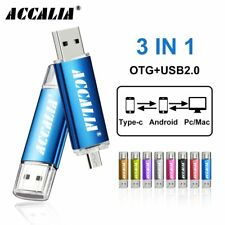 Metal OTG 3 IN 1 Type-C pen drives  flash usb memory pendrive OTG TYPE-C