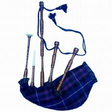 SL Highland Bagpipes Rosewood Natural Finish Plain/Bagpipe Carrying Bag/Gaita