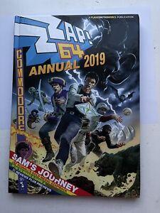 Zzap 64 Annual 2019 - Commodore 64 Hardback Book + 2019 Calendar + Sizzler Badge