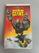 The Iron Giant (Vhs, 1999, Clamshell)